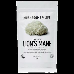 Lion's Mane Hericium erinaceus Powder   Mushrooms4life